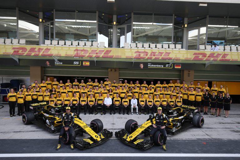 © Photo4 / LaPresse 25/11/2018 Abu Dhabi, UAE Sport Grand Prix Formula One Abu Dhabi 2018 In the pic: Renault team photograph