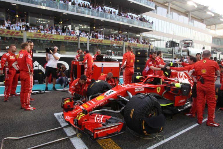 © Photo4 / LaPresse 25/11/2018 Abu Dhabi, UAE Sport Grand Prix Formula One Abu Dhabi 2018 In the pic: Sebastian Vettel (GER) Scuderia Ferrari SF71H