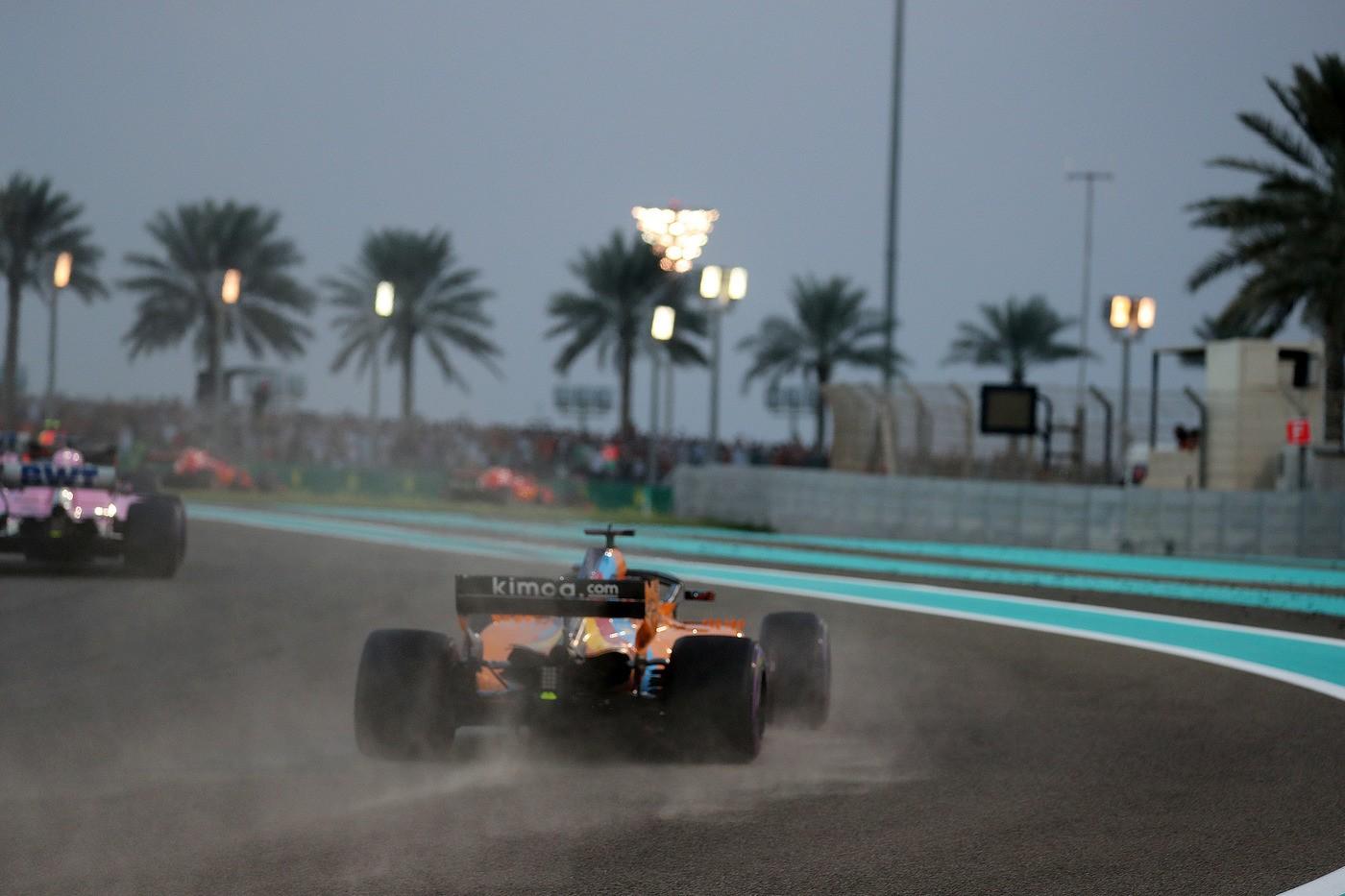 © Photo4 / LaPresse 25/11/2018 Abu Dhabi, UAE Sport Grand Prix Formula One Abu Dhabi 2018 In the pic: Fernando Alonso (ESP) McLaren MCL32