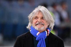 Sampdoria, l'annuncio del presidente Ferrero