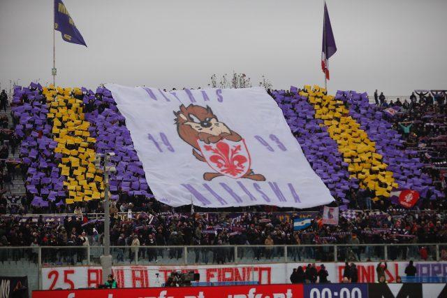 protesta Fiorentina Bologna