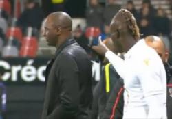 Nizza, Vieira Balotelli e il rapporto padre figlio: l'ultimo