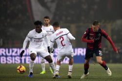 Bologna Milan, buon punto solo per muovere la classifica: pa