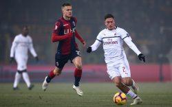 Bologna Milan diretta live 0 0: poche occasioni nei primi 45