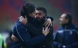 Bologna Milan, Gattuso commenta così la reazione di Cutrone