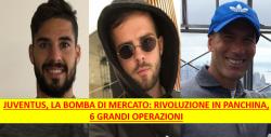 Juventus, le bombe dall'estero: ribaltone in panchina, tre c