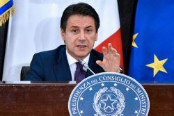 """Il Premier Giuseppe Conte: """"sono tifoso della Roma ma non gu"""