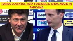 Torino Juventus, la dura legge dell'allenatore: Mazzarri Vs