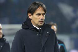 """Napoli Lazio, Inzaghi: """"ingiusta l'espulsione di Acerbi"""""""