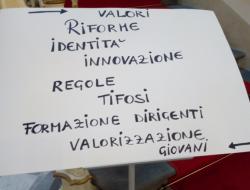 Un grande cartello è stato appeso in sede in Lega Pro [FOTO]