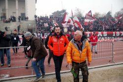 Milan, la festa della Curva Sud e la nuova frecciata di Salv
