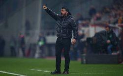 """Milan, Gattuso: """"sono incazzato nero, eliminazione giusta"""""""