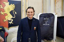 Genoa: Prandelli e i giocatori in visita al Gaslini