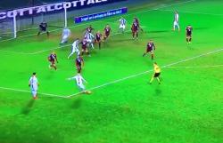 Torino Juventus, l'orribile punizione di Ronaldo fa il giro