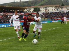 Cosenza-Benevento posticipata