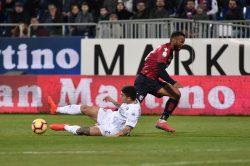 Empoli beffato nel finale, il Cagliari strappa un punto prez