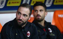 Milan Higuain, è finita: l'attaccante non è stato convocato