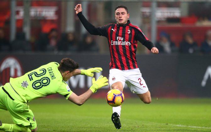 Milan Cagliari pagelle