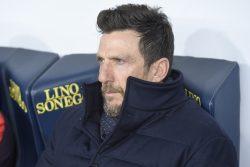 """Frosinone Roma, Di Francesco: """"era importante presentarsi al"""