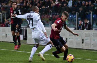 Cagliari Parma pagelle