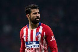 Infortunio Diego Costa, tre mesi di stop per l'attaccante de