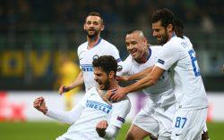 Europa League, l'Inter schianta il Rapid Vienna 4 0 a San Si