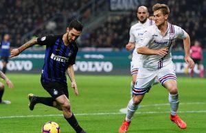 Inter Sampdoria pagelle
