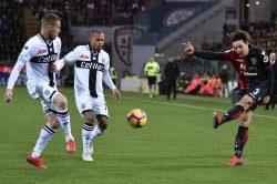 Infortunio Pellegrini, il calciatore del Cagliari costretto