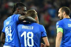 Italia, le parole di Kean, Barella e Quagliarella al termine