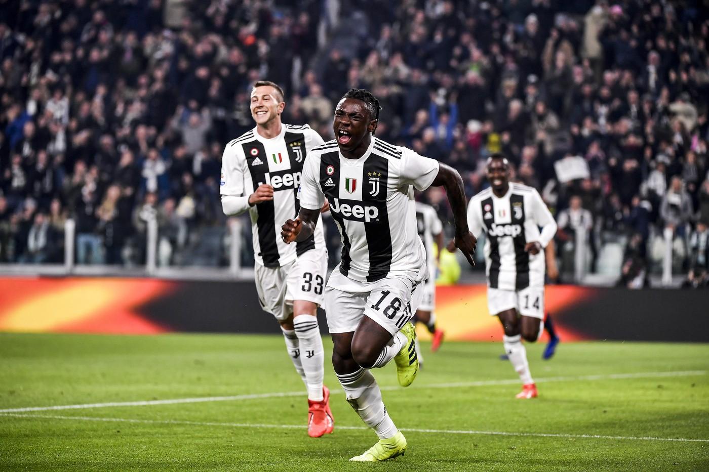 Kean (Juventus) Marco Alpozzi/LaPresse