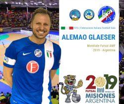 Calcio a 5 AMF |  la Nazionale Maschile è pronta per la Coppa del Mondo AMF in Argentina