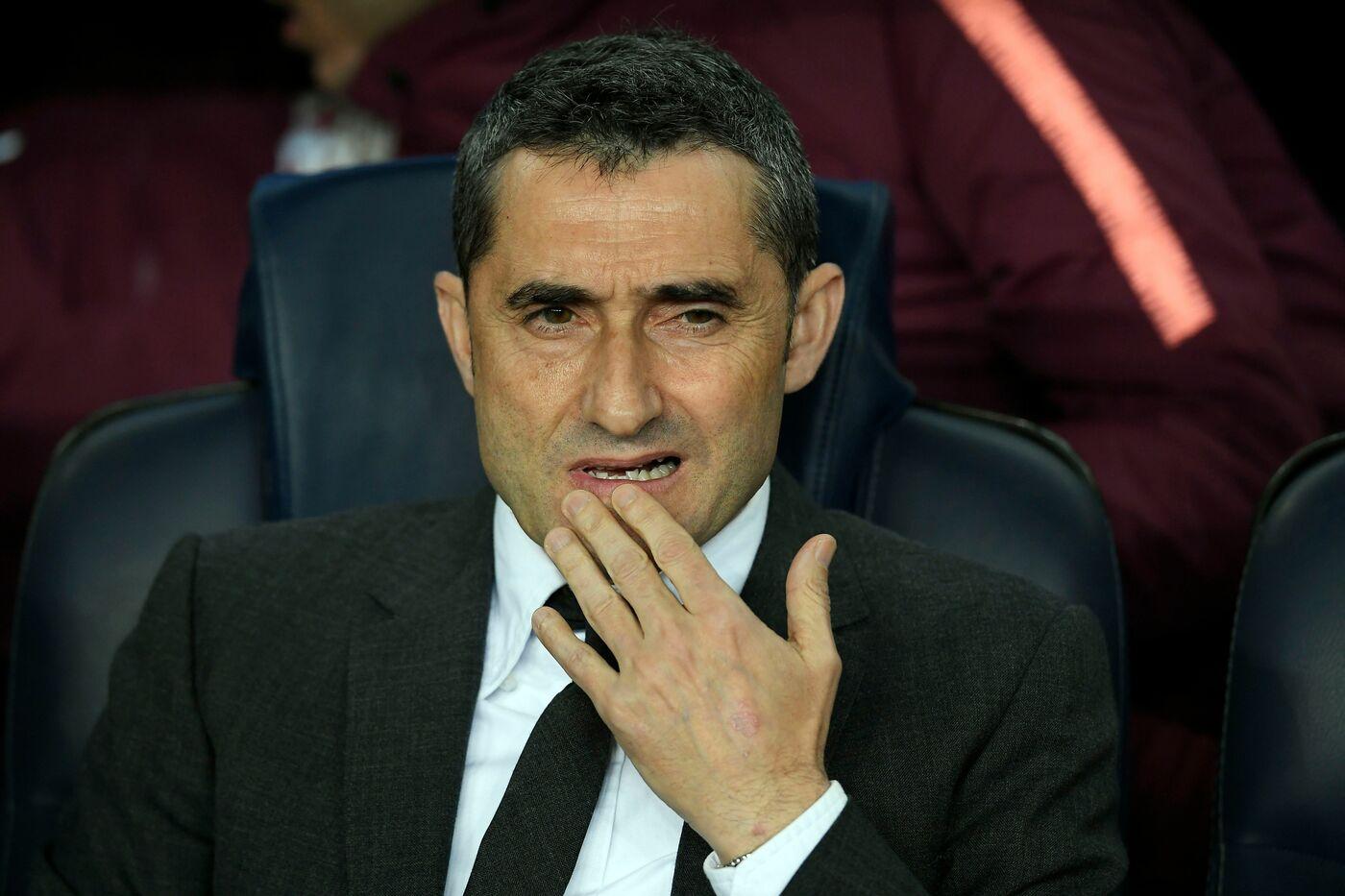 Ernesto Valverde (Barcellona) AFP/LaPresse
