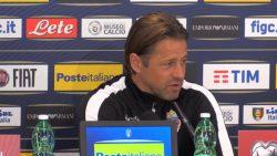 """Il Ct del Liechtenstein: """"Italia fortissima, è tra le prime"""