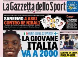 La rassegna stampa di sabato 23 marzo: la giovane Italia in