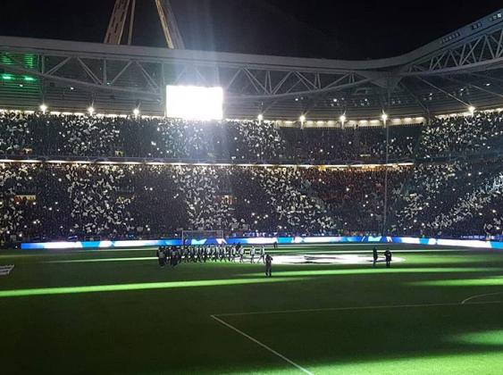 Coreografia Juventus Atletico