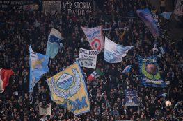 Sampdoria Lazio, i tifosi biancocelesti ricordano Fabrizio '