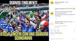 L'Italia vince contro la Finlandia, arriva la reazione del w