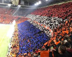 Coreografia Olanda Germania: spettacolo incredibile alla Joh