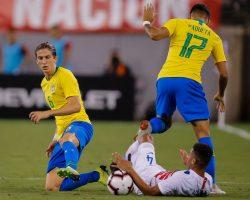 Amichevoli nazionali, solo un pareggio per il Brasile contro Panama: in gol Paquetà