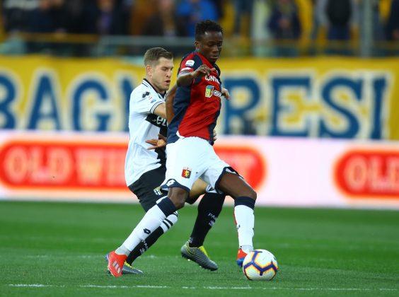 Parma Genoa pagelle