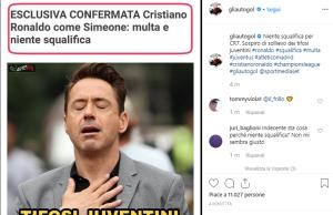 multa Ronaldo