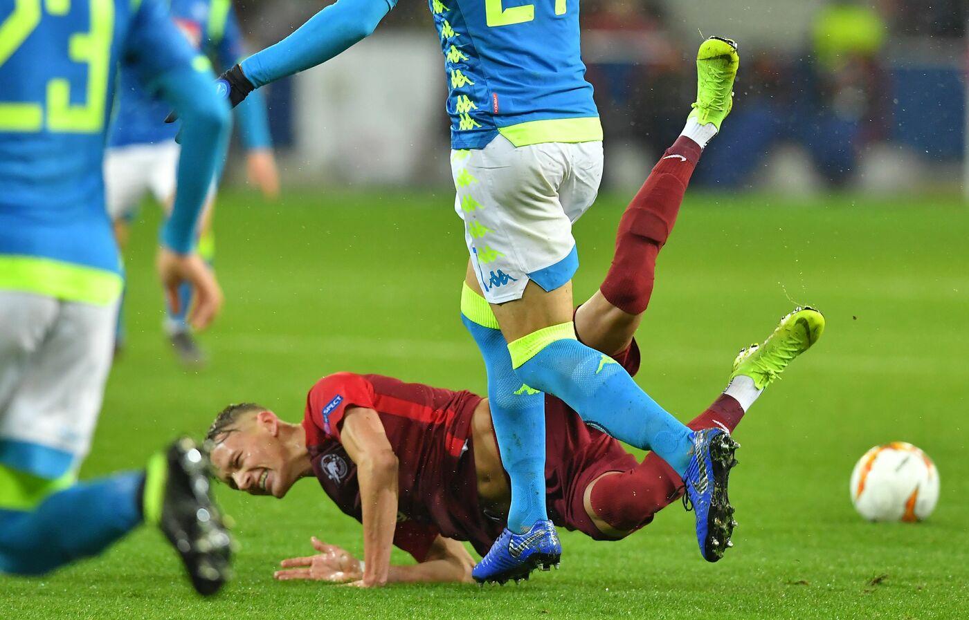 Salisburgo Napoli Hd: UEFA Europa League 2018/2019
