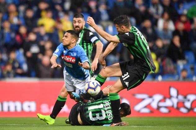 Sassuolo Napoli pagelle
