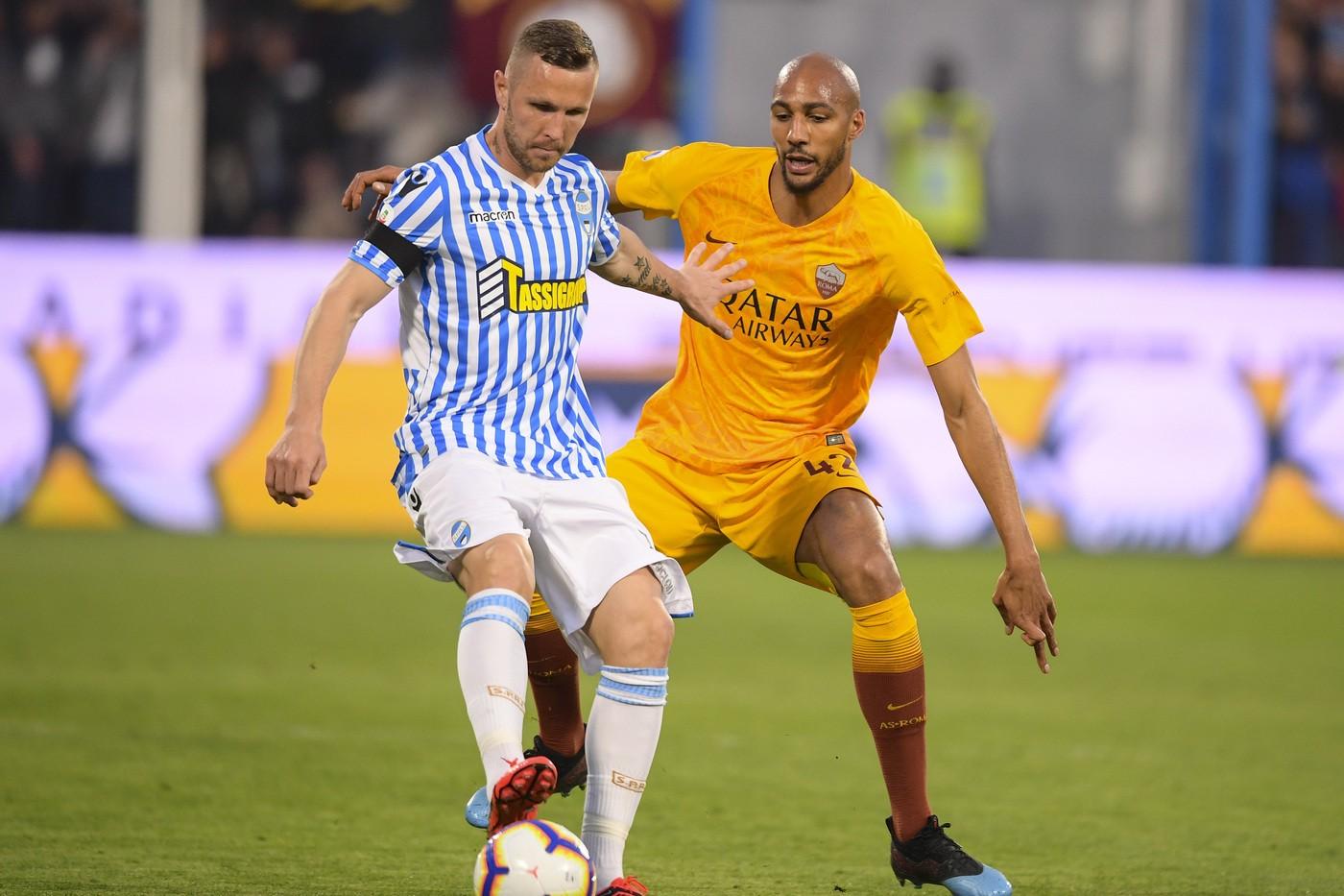 Kurtic (Spal) Fabio Rossi/AS Roma/LaPresse