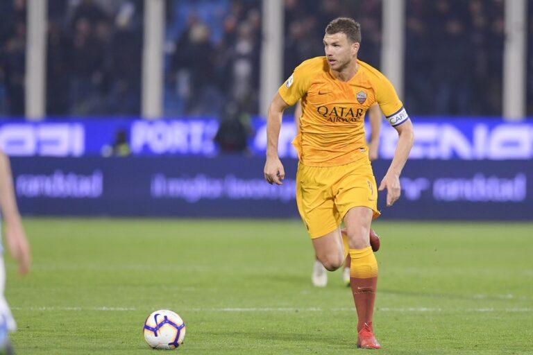 Dzeko (Roma) Luciano Rossi/AS Roma/LaPresse