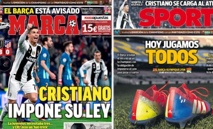 Juventus stampa spagnola