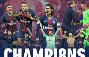 Psg campione di Francia