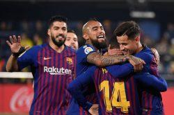 Liga, il Barcellona potrebbe laurearsi campione già questa s
