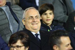 """Lazio, Lotito: """"Scudetto? Se abbiamo messo un premio… Su Mil"""