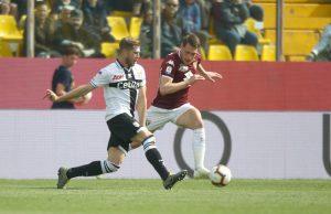 Parma Torino pagelle